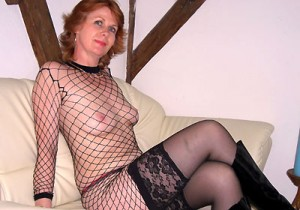 Geile Oma im Webcam Chat